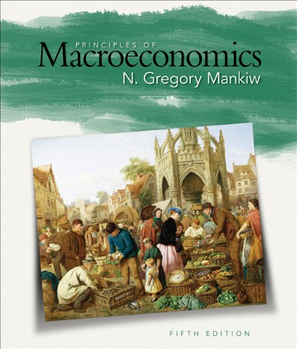 9780324600902: Mankiw Principles of Macroeconomics 5e (with Aplia Its 1-Semester Printed Access Card)