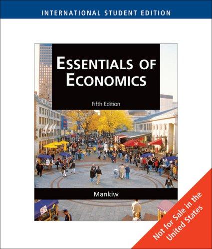 9780324600988: Essentials of Economics, International Edition