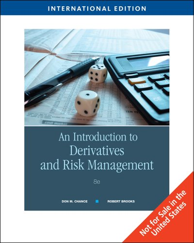 9780324601138: An Introduction to Derivatives and Risk Management, International Edition (with Stock-Trak Coupon)