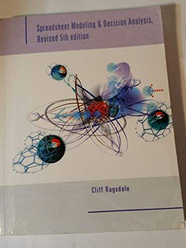 9780324614145: Spreadsheet Modeling & Decision Analysis - Revised 5th edition