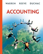 Accounting- Chapters 1-13: Carl S. Warren,