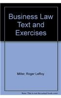 9780324640953: Business Law Text and Exercises
