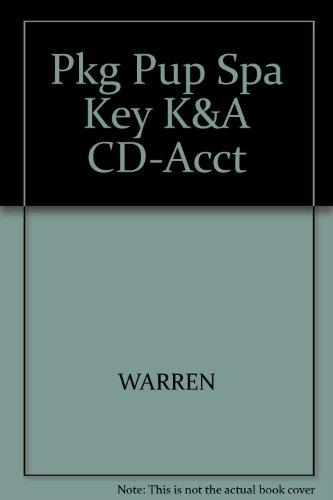9780324641554: Pkg Pup Spa Key K&A CD-Acct