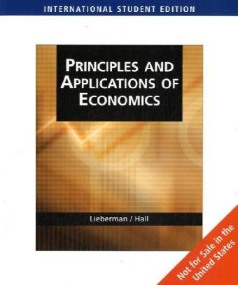 9780324645194: Principles and Applications of Economics (AISE)