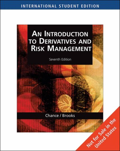 9780324646276: An Introduction to Derivatives and Risk Management: With Stock-Trak Coupon