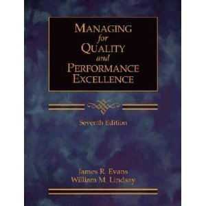 9780324646856: Managing for Quality and Performance Excellence