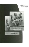 9780324648225: Albrecht/Stice/stice/swain's Accounting: Concepts and Applications or Financial Accounting, Working Papers