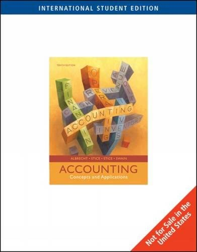 9780324648508: Accounting: Concepts and Applications