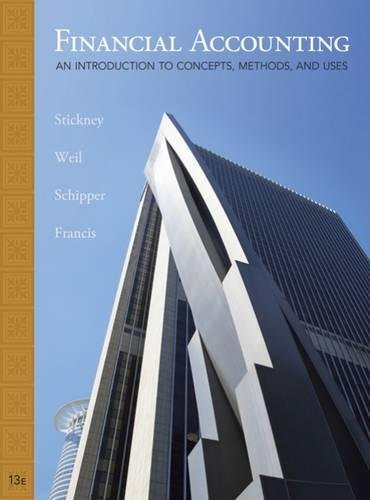 9780324651140: Financial Accounting: An Introduction to Concepts, Methods and Uses (Available Titles CengageNOW)