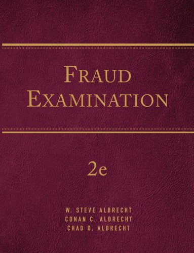 9780324651157: Fraud Examination, Revised