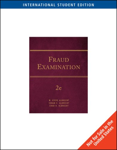 9780324651171: REVISED AISE, FRAUD EXAMINATIO N 2E