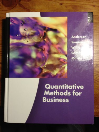 9780324651751: Quantitative Methods for Business (Book Only)