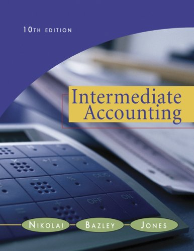 9780324651928: Intermediate Accounting (with Business and Company Resource Center and Chapter 20, 2007 Update)
