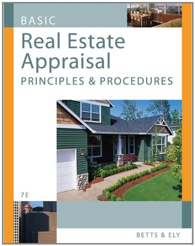 9780324652611: Basic Real Estate Appraisal: Principles and Procedures (with CD-ROM)