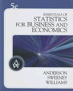 9780324653212: Essentials of Statistics for Business and Economics (Book Only)