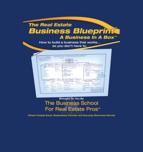 9780324653380: The Real Estate Business Blueprint: A Business In A Box