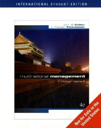 9780324653434: Multinational Management: WITH Map