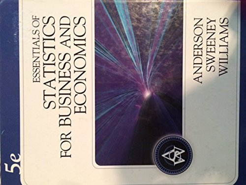 9780324654219: Essentials of Statistics for Business and Economics