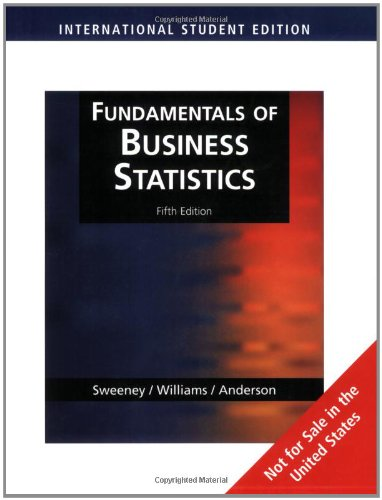 9780324654257: Fundamentals of Business Statistics, International Edition (with CD-ROM)