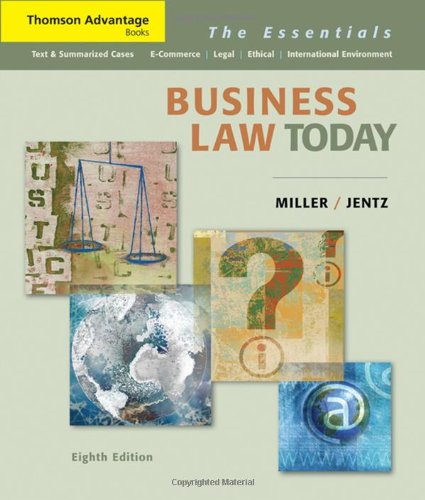 9780324654547: Business Law Today: The Essentials