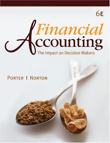 9780324655230: Financial Accounting: The Impact on Decision Makers (Available Titles CengageNOW)