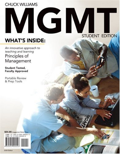 9780324655445: MGMT 2008 Edition (with Review PREP Cards)