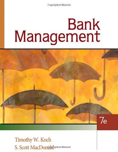 9780324655780: Bank Management