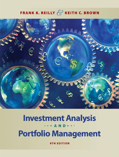 9780324656121: Investment Analysis and Portfolio Management (with Thomson ONE - Business School Edition)