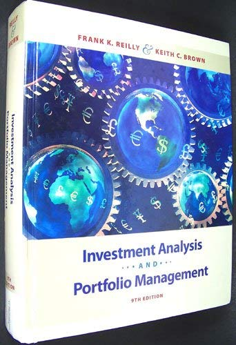 9780324656329: Investment Analysis and Portfolio Management (Book Only)