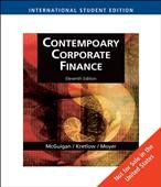 9780324657906: Contemporary Corporate Finance Eleventh Edition - International Student Edition
