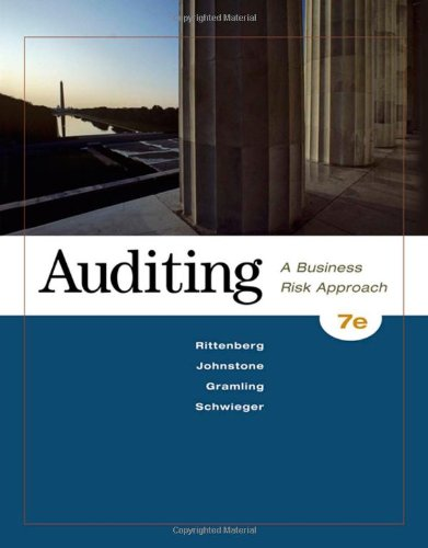 9780324658040: Auditing: A Business Risk Approach (with ACL CD-ROM)