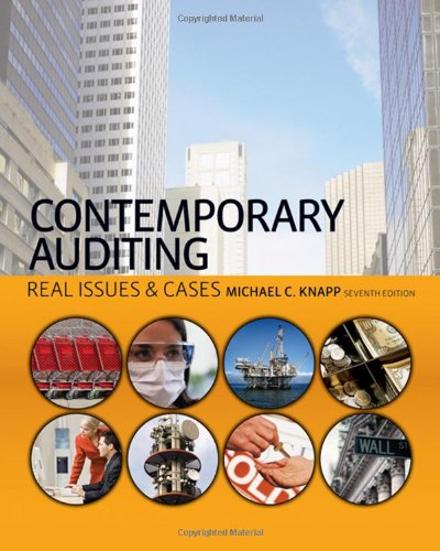 9780324658057: Contemporary Auditing: Real Issues & Cases