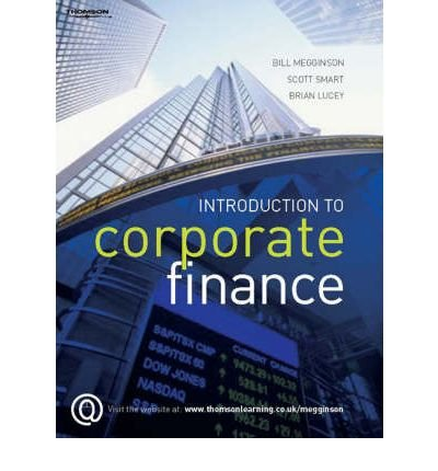 9780324658965: Introduction to Corporate Finance, Abridged Edition (Book Only)