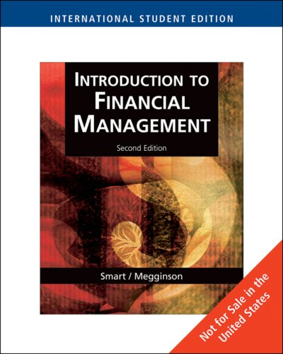 9780324659030: Introduction to Financial Management with SMARTMoves, International Edition (with Thomson ONE)