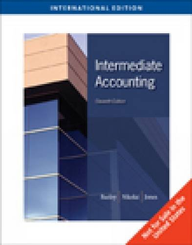 9780324659276: Intermediate Accounting, International Edition