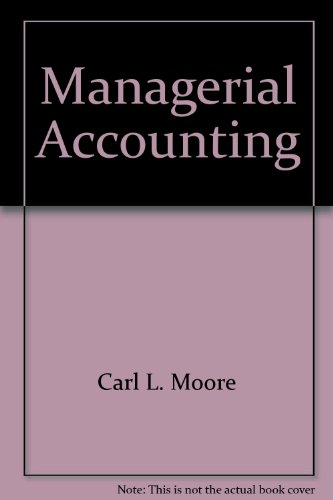 9780324659337: Managerial Accounting