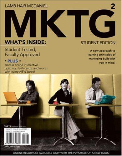MKTG 2.0, 2008 - 2009 Student Edition: Charles W. Lamb,