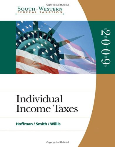 9780324660203: South-Western Federal Taxation 2009: Individual Income Taxes (with TaxCut Tax Preparation Software CD-ROM)