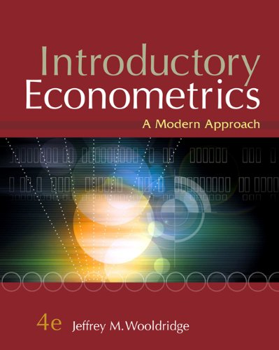9780324660548: Introductory Econometrics: A Modern Approach [With Access Code]