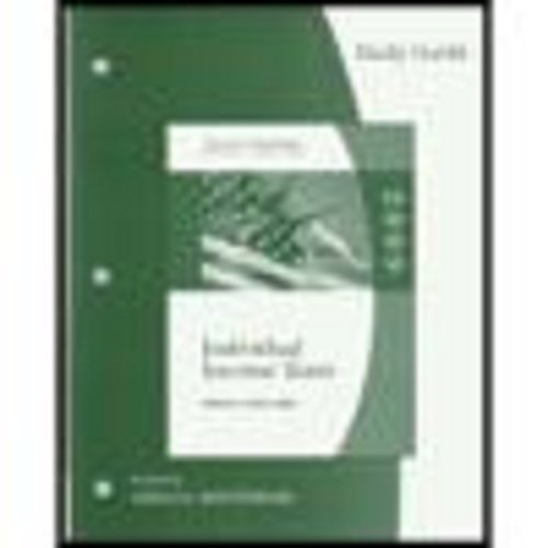 9780324661194: Study Guide for Hoffman/Smith/Willis' South-Western Federal Taxation: Individual Income Taxes, 32nd