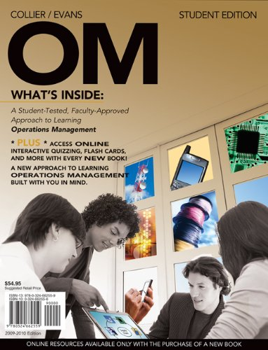 OM 2009-2010 Edition (with Review Cards and: David Alan Collier,