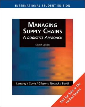 Managing Supply Chains: A Logistics Approach: A: Brian Gibson; John