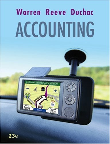 9780324662962: Accounting (Available Titles CengageNOW)