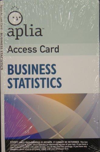 9780324662979: Aplia Access Card T/a Essentials of Statistics for Business & Economics