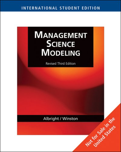 9780324663464: Management Science Modeling