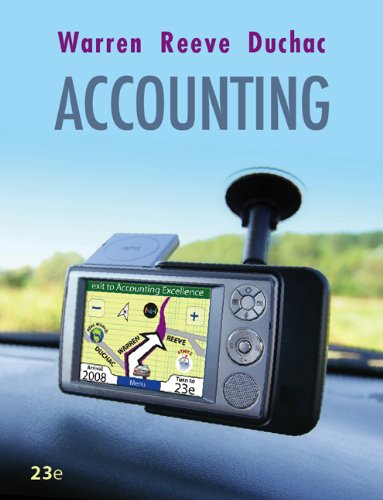 9780324663990: Working Papers, Chapters 14-26 for Warren/Reeve/Duchac's Accounting