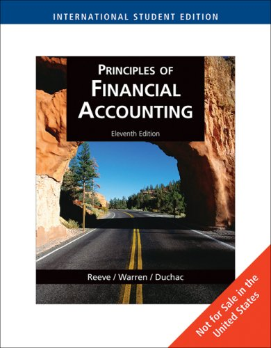 9780324664454: Principles of Financial Accounting, International Edition