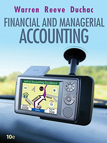 9780324664577: Financial & Managerial Accounting (Available Titles Cengagenow)