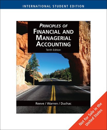 9780324664768: Principles of Financial and Managerial Accounting