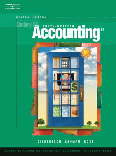9780324672343: Bundle: Century 21 Accounting: General Journal (with CD-ROM), 8th + eBook on CD-ROM